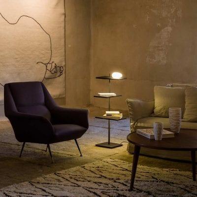Lampadar decorativ, multifuncțional VIBIA.