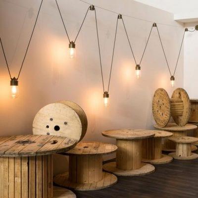 Lampi cu aspect antichizat pentru iluminat interior si exterior.