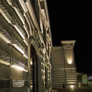 iluminat arhitectural muzeu