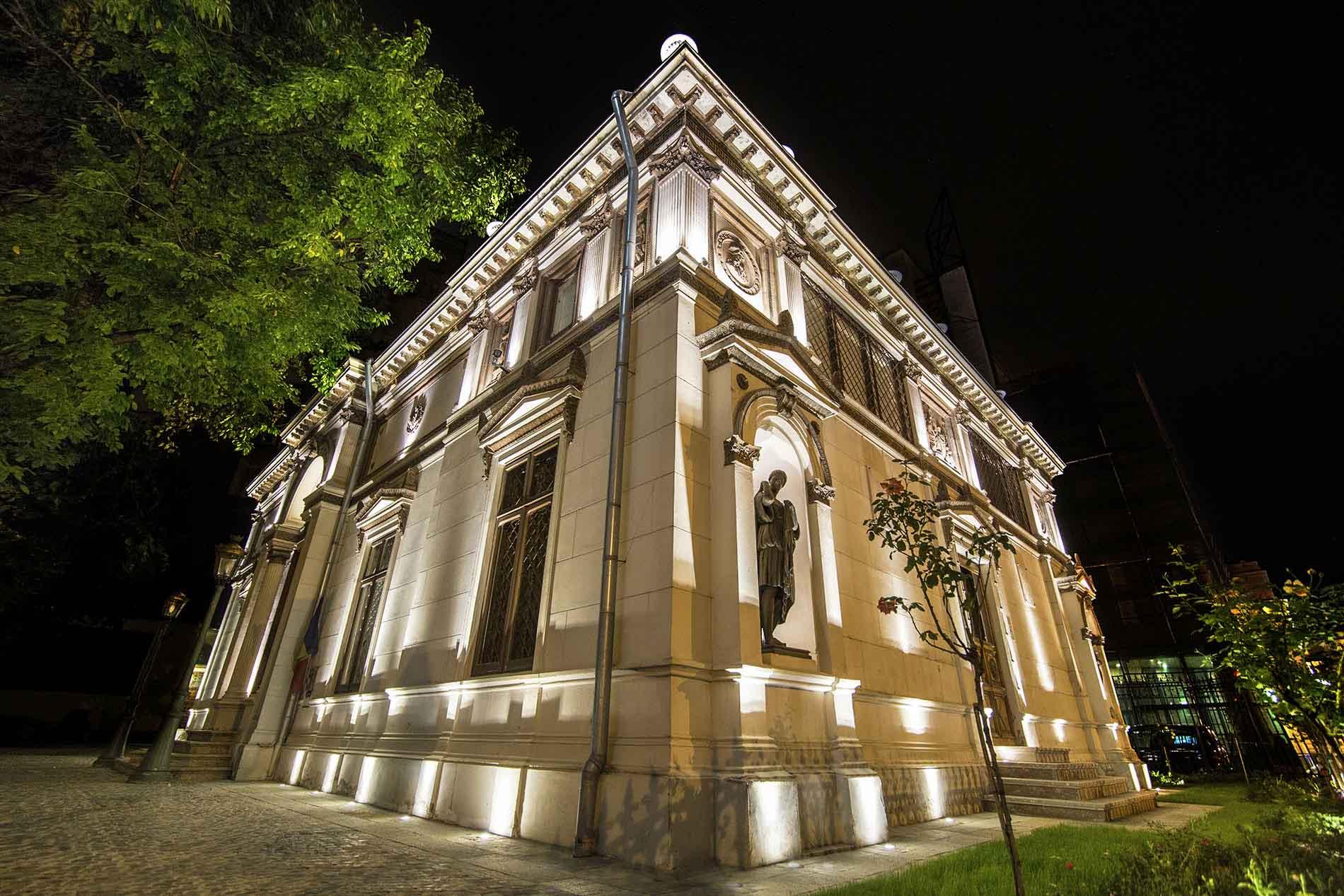 Iluminat arhitectural Muzeul Th. Aman – București
