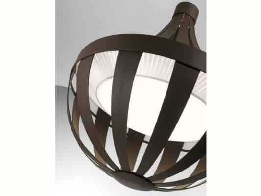 lampa decorativa din piele