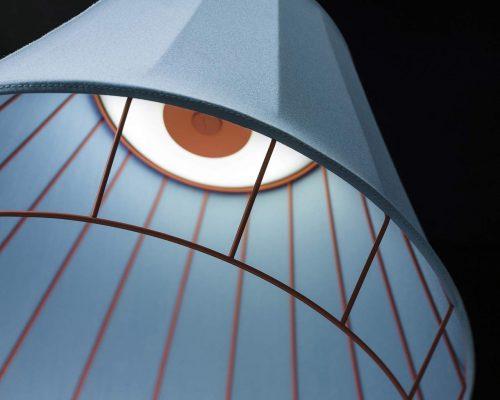 lampă suspendată, detaliu