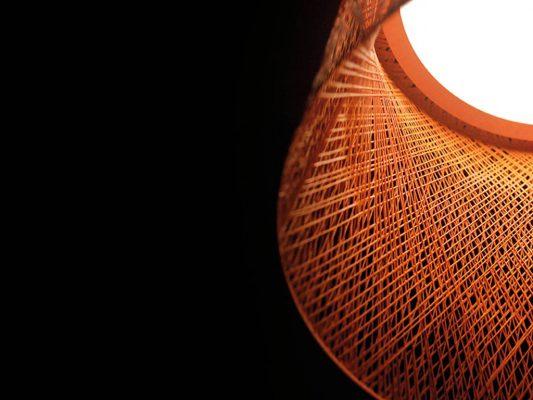 lampă Wind, detaliu