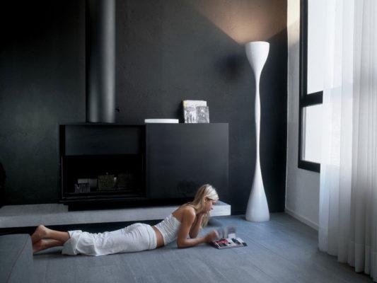 lampadar modern dormitor vibia