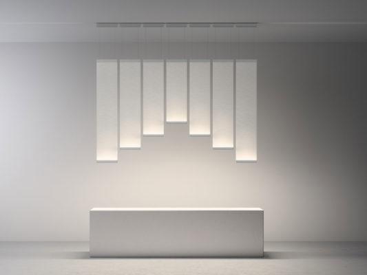 lampi suspendate material textil
