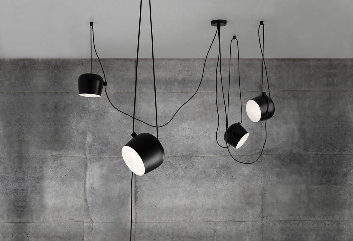 Plafoniere Led Flos : Lampi suspendate aim design flos corpuri iluminat interior