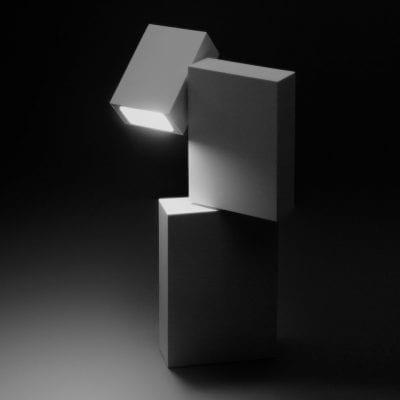 corp de iluminat modern pentru exterior