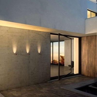 aplice pentru iluminatul exterior, corpuri Bamboo