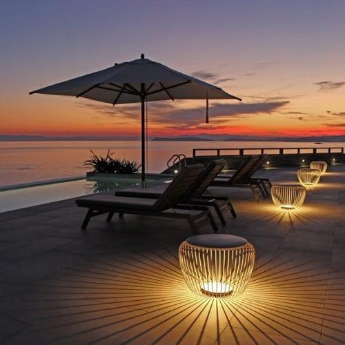 iluminat exterior decorativ terasa gradina
