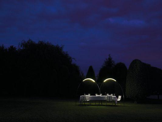 Halley  - stalpi de iluminat arhitectural ambiental.