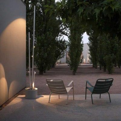 corp de iluminat pentru exterior, lampadar Bamboo