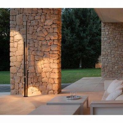 lampadar modern de iluminat pentru exterior