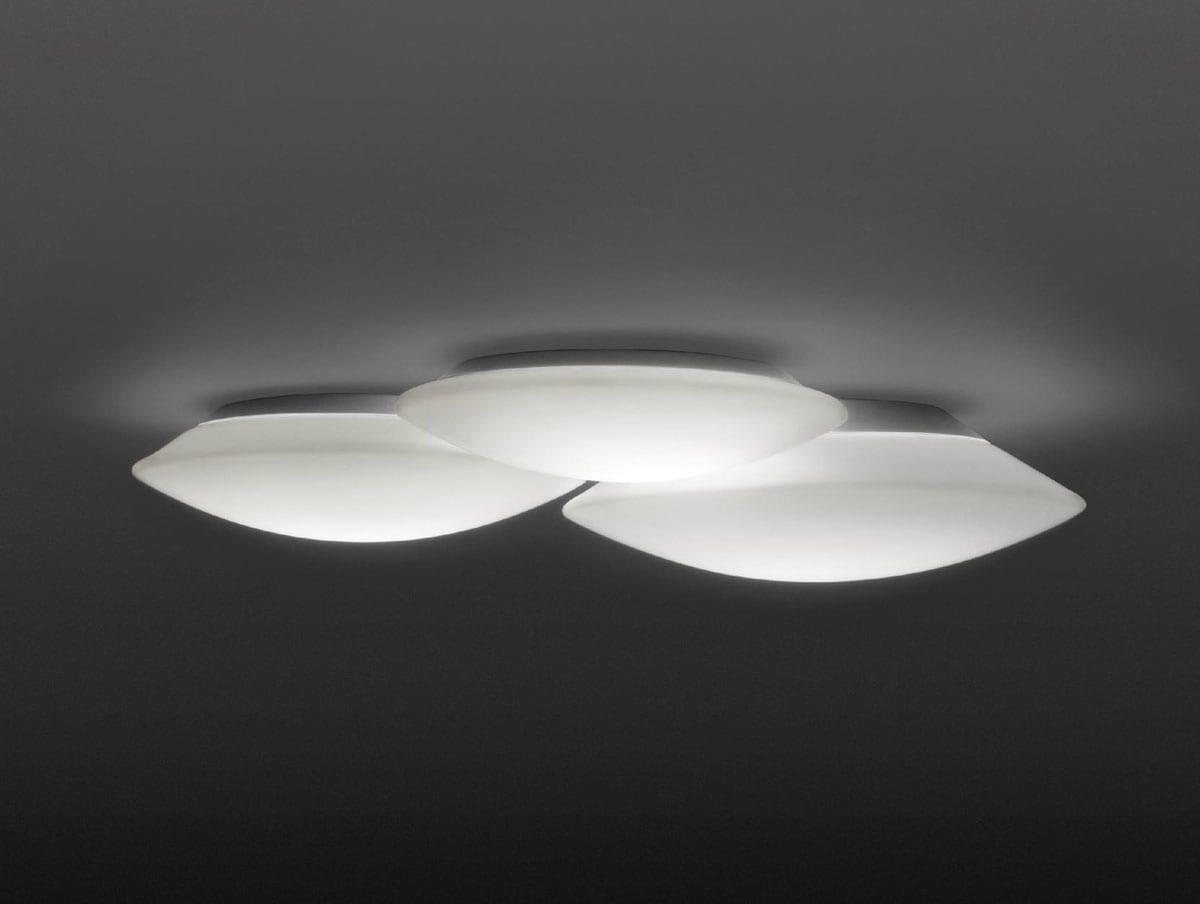 Plafoniere Moderne Economiche : Plafoniere moderne grande plafoniera in vetro moderna per
