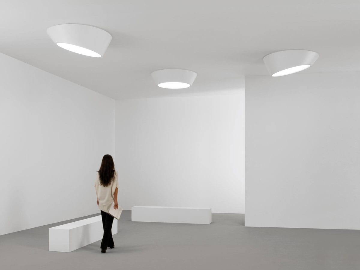 Plafoniera De Tavan : Aplice tavan de interior plus design vibia iluminat arhitectural