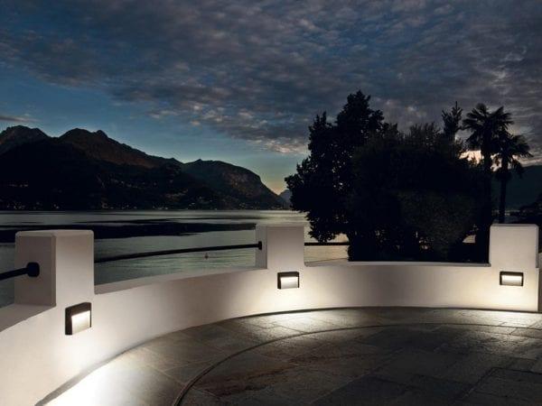 aplice led exterior hyperion iluminat decorativ italia