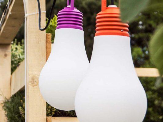 lampi in forma de bec pentru luminat exterior