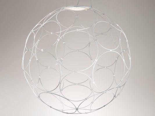 corp iluminat metal , circular