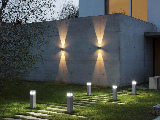 Corpuri iluminat exterior decorativ