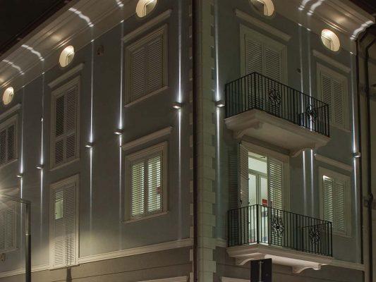 Iluminat arhitectural fatade cladiri