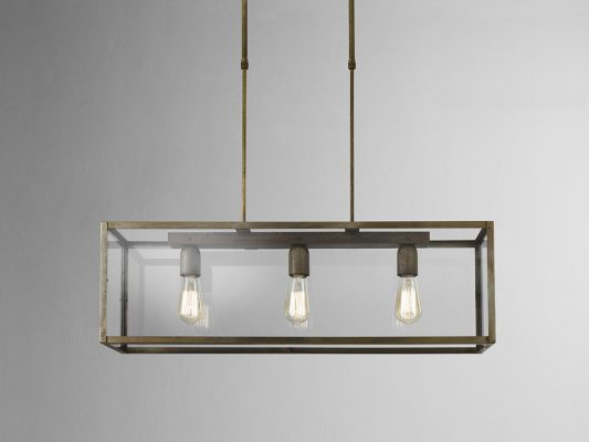 lampa suspendata cu design industrial