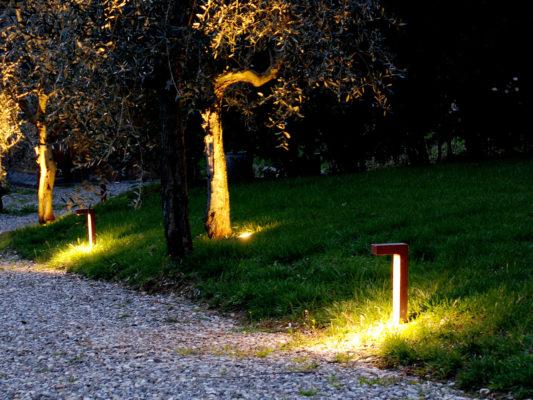 stalp iluminat gradina