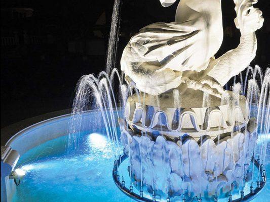corp de iluminat subacvatic fantana