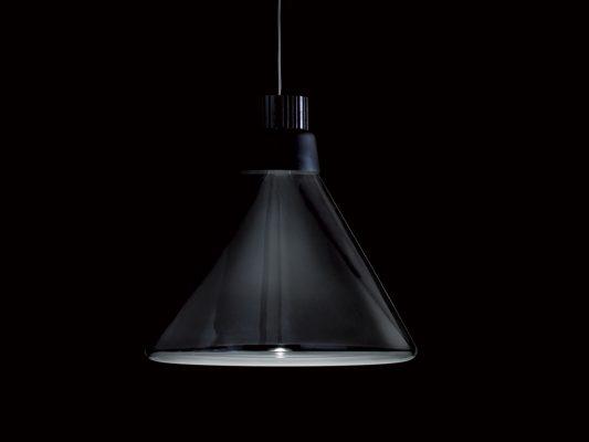 lampa suspendata din sticla design modern
