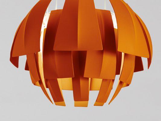 lampa suspendata decorativa cu design exotic