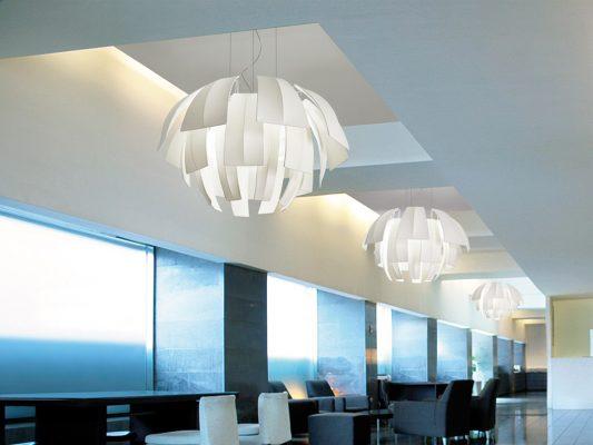 lampa suspendata decorativa pentru birou