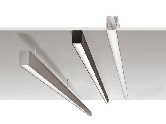 Profile LED configurabile Macrolux - iluminat arhitectural, rezidential.