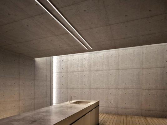 Profile LED incastrate si aparente Macrolux pentru iluminat arhitectural.