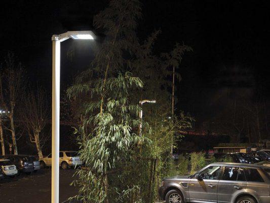 stalp iluminat exterior