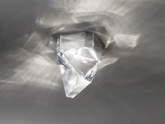 aplica de tavan fabbian sticla