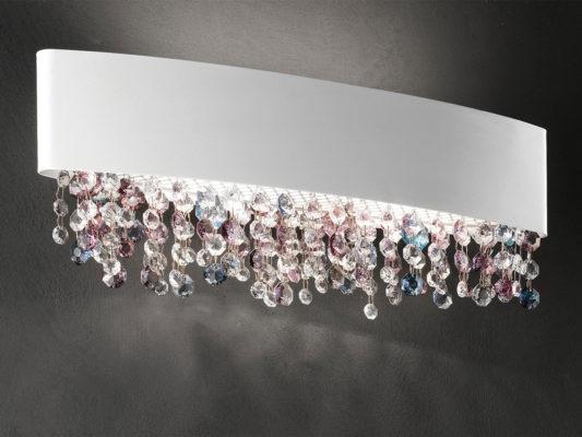Olà, Maiero - aplice de perete cu cristale, iluminat interior