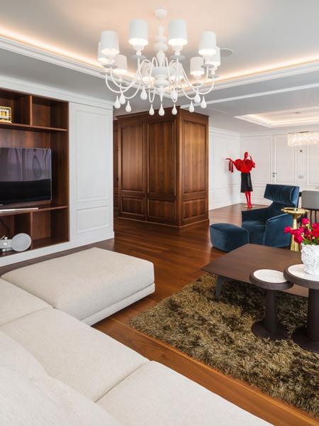 Design iluminat interior clasic contemporan