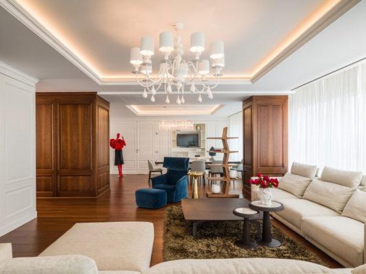 corp de iluminat decorativ living
