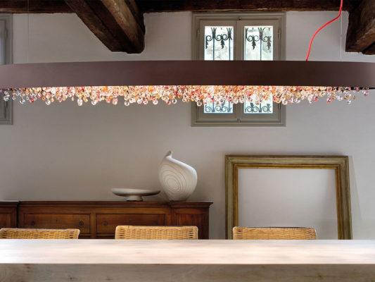 lampadar modern cristale italia