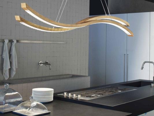 lampa din lemn living