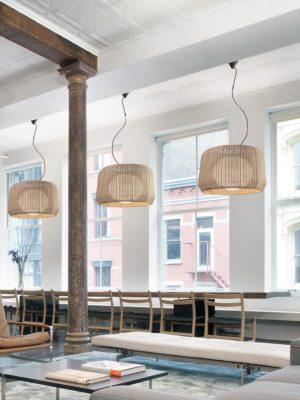 Lampi suspendate decorative iluminat bar restaurant terasa gradina