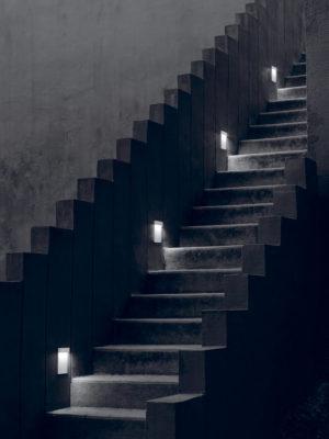 Aplice iluminat arhitectural scari
