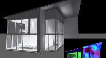 Design de iluminat, calcul luminotehnic – birouri