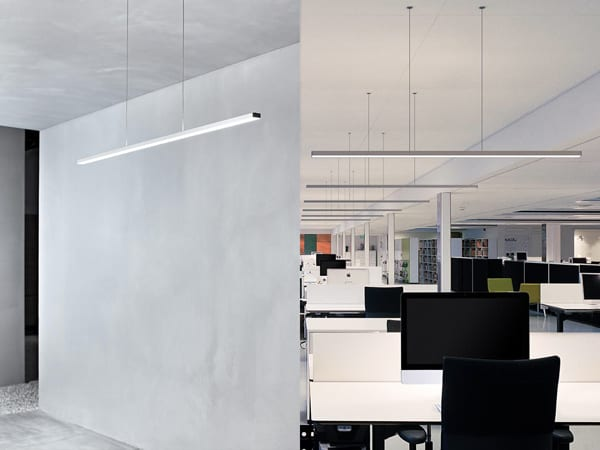 corpuri iluminat suspendate birou
