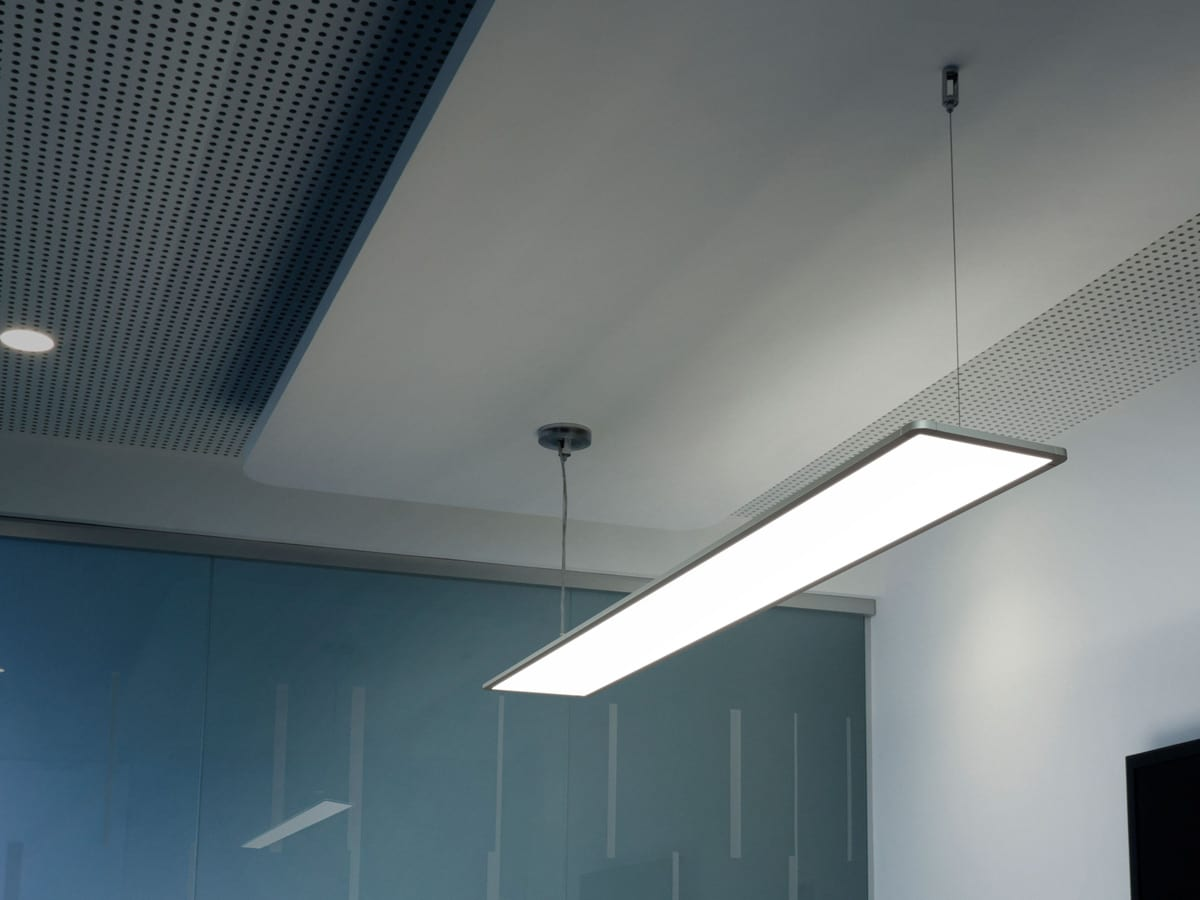 Plafoniere Led Flos : Corp de iluminat led pentru office arhitectural