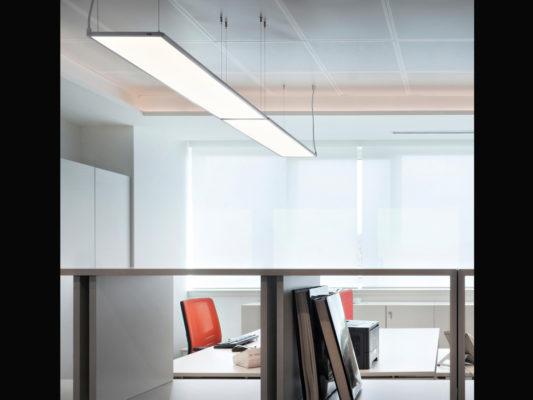 Corpuri iluminat led birouri