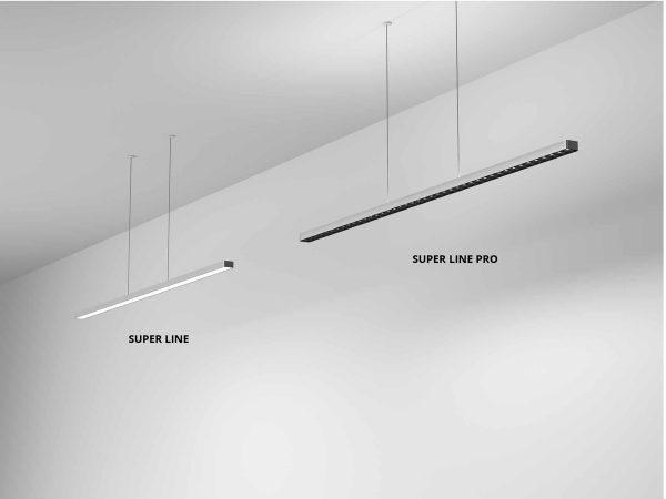 lampi suspendate super line pro flos italia