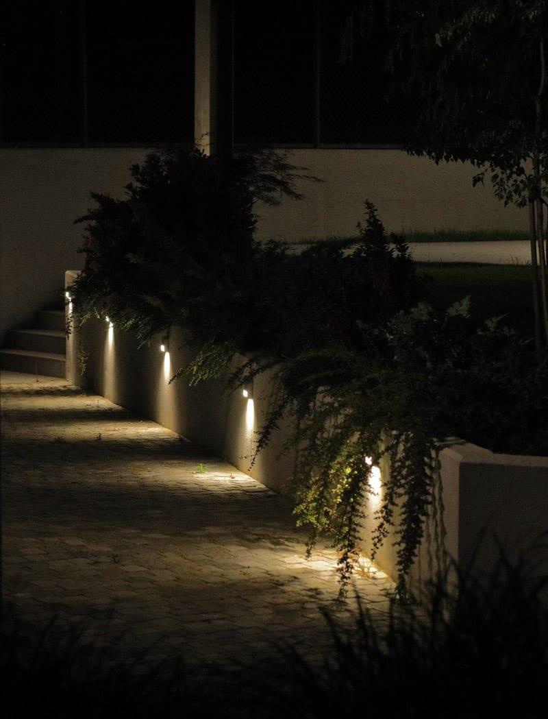 Iluminat arhitectural exterior - alee, aplice led