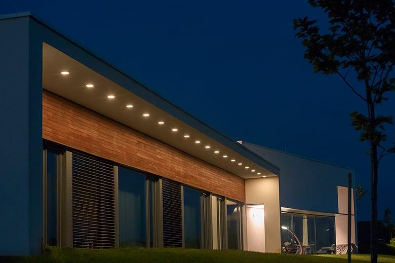 Iluminat rezidential, iluminat arhitectural exterior