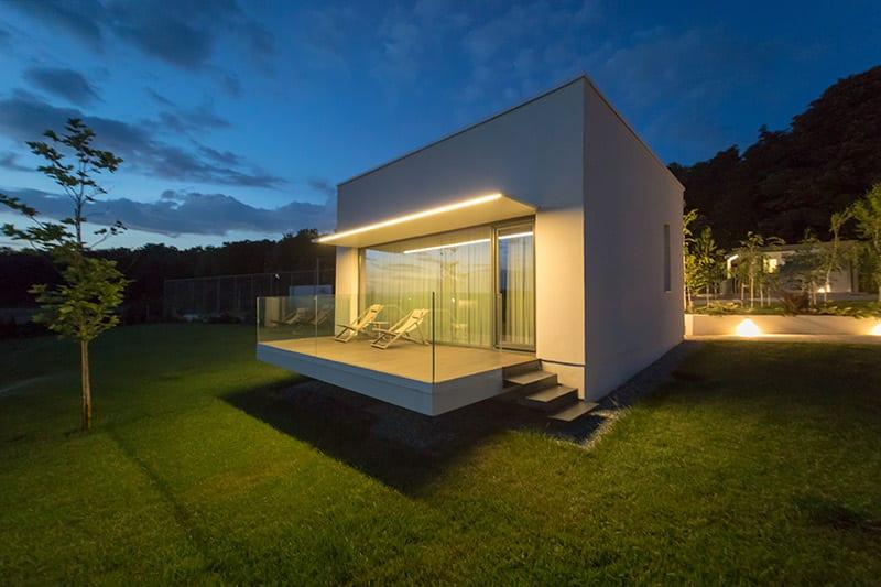 Iluminat arhitectural exterior LuceDomotica Romania, Italia