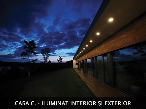 Iluminat arhitectural fatade, iluminat arhitectural interior exterior