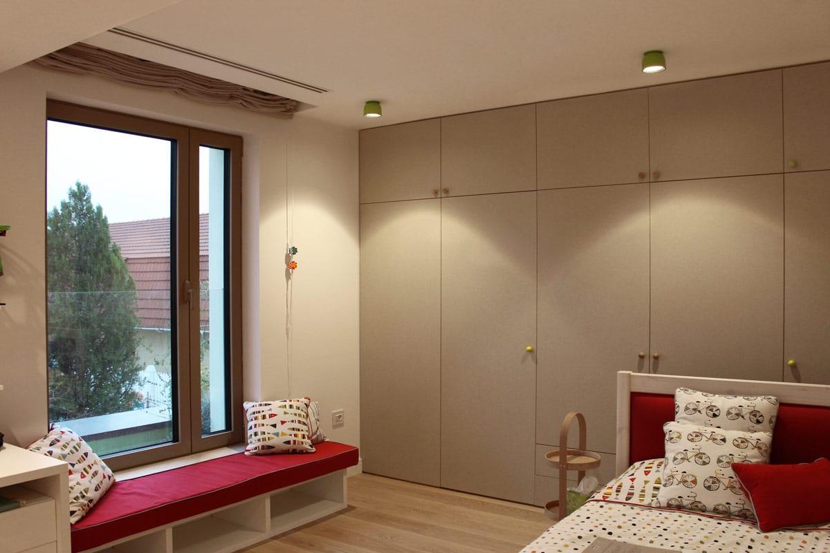 Iluminat cameră copii, design iluminat rezidențial